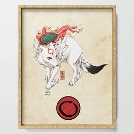 Okami Amaterasu Serving Tray