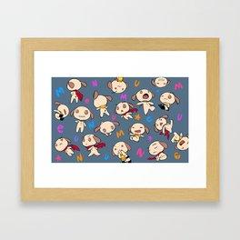 nemu*nemu Framed Art Print