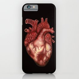 Human Heart Anatomy: Anatomical Art, Watercolor Doctor Gift iPhone Case