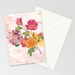 Ring a ring o' roses Stationery Cards