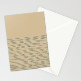 Hand Striped and Sea Stationery Cards