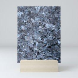 Blue Pearl Granite #1 #decor #stone #art #society6 Mini Art Print
