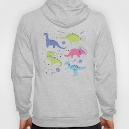 Dinosaurs in Space Hoody