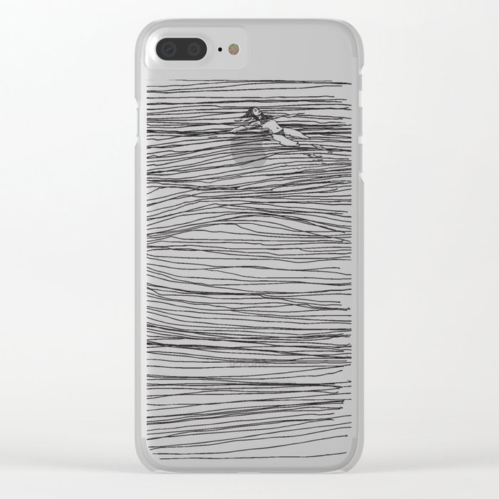 Another Long Silence Clear iPhone Case