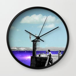 Take the plunge Wall Clock