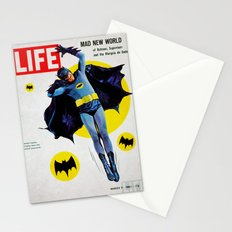 Adam West - Bat Man Life Magazine Cover Stationery Cards