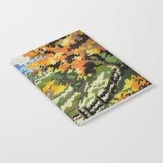 Found Tapestry Landscape Notebook