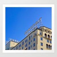 The Roosevelt Hotel Art Print