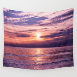 A Moving Sea Between The Shores Wall Tapestry