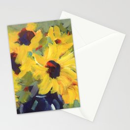 Sage and Sunflowers Stationery Cards