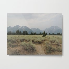 Rocky Mountain Paradise Metal Print
