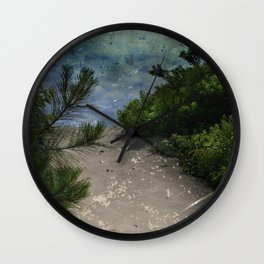 Rising Obscurity Wall Clock