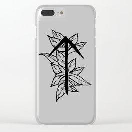 Warrior Rune Clear iPhone Case