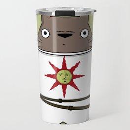 Totoros - Praise the sun Travel Mug