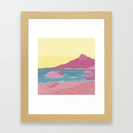 Lions Head Framed Art Print