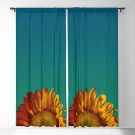 A Sunflower Blackout Curtain
