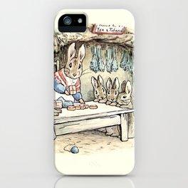 Josephine Rabbit in the Kitchen iPhone Case