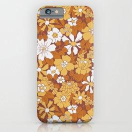 Blooming Seventies iPhone Case