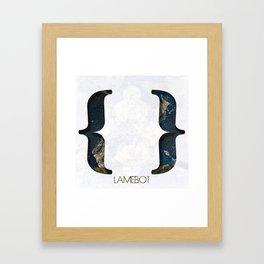 Empty Set Framed Art Print