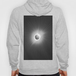 Total Solar Eclipse Illuminated by Sun  Hoody