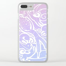 Lazy Princess Clear iPhone Case