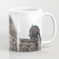 castle in the sky Mugs featuring Castle by Snail,Snail