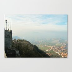 San Marino view Canvas Print