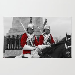 Household Cavalry Changing Of The Guard Rug