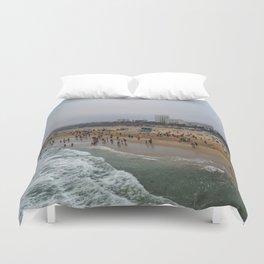 Santa Monica . Duvet Cover