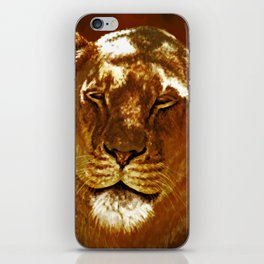 Red Lion iPhone Skin