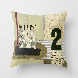 Shorthand Throw Pillow