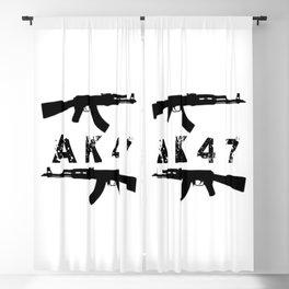 AK47 Rifles Blackout Curtain