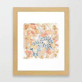 Coral Spring Garden Framed Art Print
