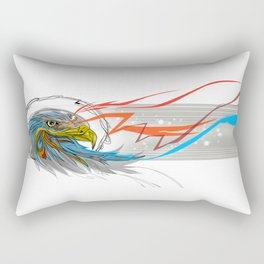 Eagle Vision Rectangular Pillow