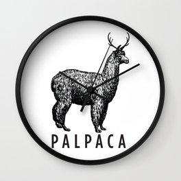 the palpaca Wall Clock