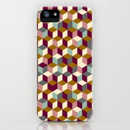 Cubic Pattern iPhone Case