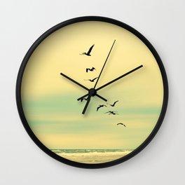 Across the Endless Sea Wall Clock