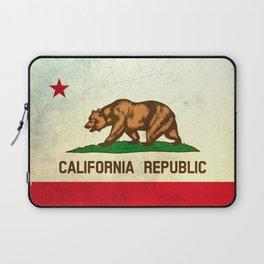 vintage California flag Laptop Sleeve