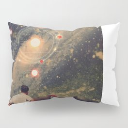 Light Explosions In Our Sky Pillow Sham