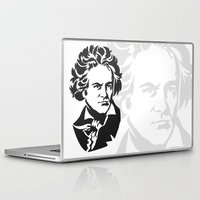 beethoven Laptop & iPad Skins featuring Beethoven by b & c