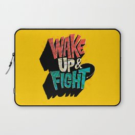 Wake Up and Fight Laptop Sleeve