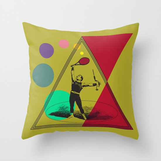 my uncle : what a complete man... Throw Pillow