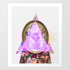 Mirror mirror on the wall who's the fairest of them all Art Print