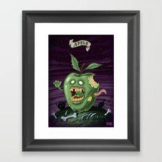 Apple - Food series Framed Art Print