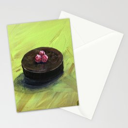 Framboises pour le Chocolat Stationery Cards