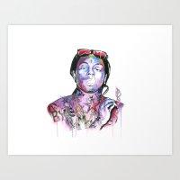 Wayne Art Print