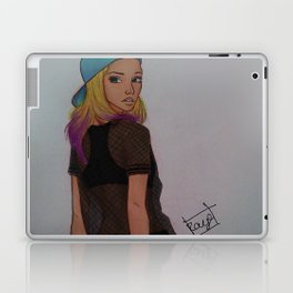 Sk8er Girl Laptop & iPad Skin