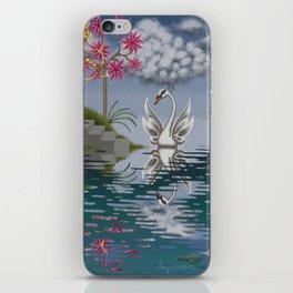 Swan Song iPhone Skin