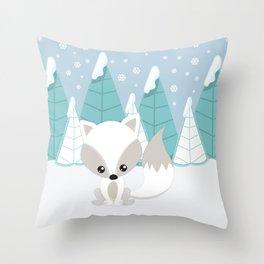 ARCTIC LANDSCAPE Throw Pillow