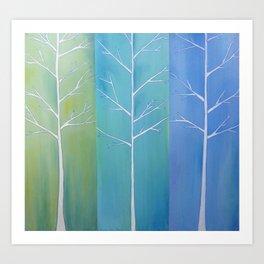 """""""Shades of Nature"""" Art Print"""